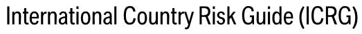 شاخص راهنمای بین المللی ریسک کشوری (ICRG) International Country Risk Guideگیگاپیپر