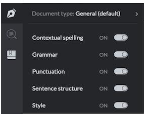 انواع سند در grammarly | چک کردن نکات دستوری و گرامری مقاله با Grammarlyگیگاپیپر