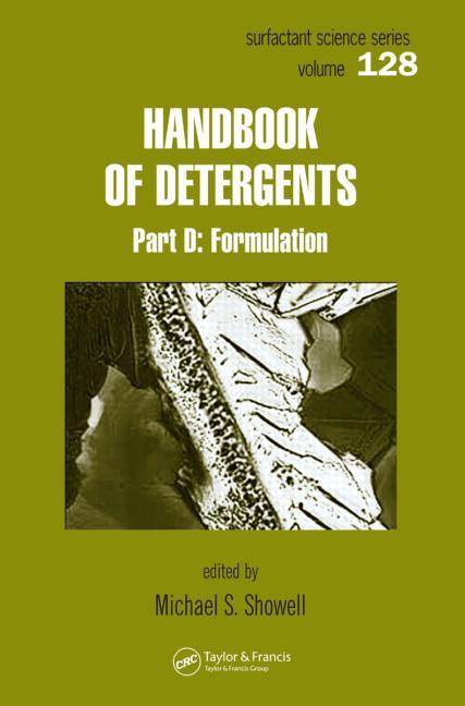 Download Ebook Handbook of Detergents خرید کتاب راهنمای مواد شوینده. / بخش D، فرمول بندی سال 2016  دانلود ایبوک Handbook of Detergents, Part D Formulation