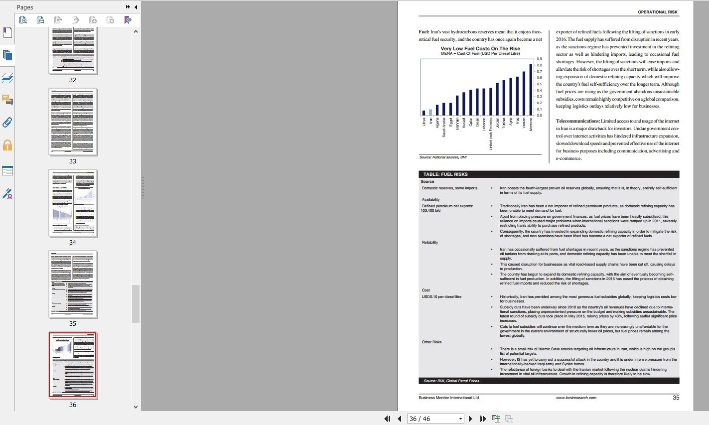 گزارشهای سازمان بیزینسمانیتور اینترنشنال درباره انواع ریسک در ایران Iran Country Risk Report Q1 2018 دانلود گزارش Country Risk Report Q2 2018.pdf Downloadگیگاپیپرگیگاپیپر