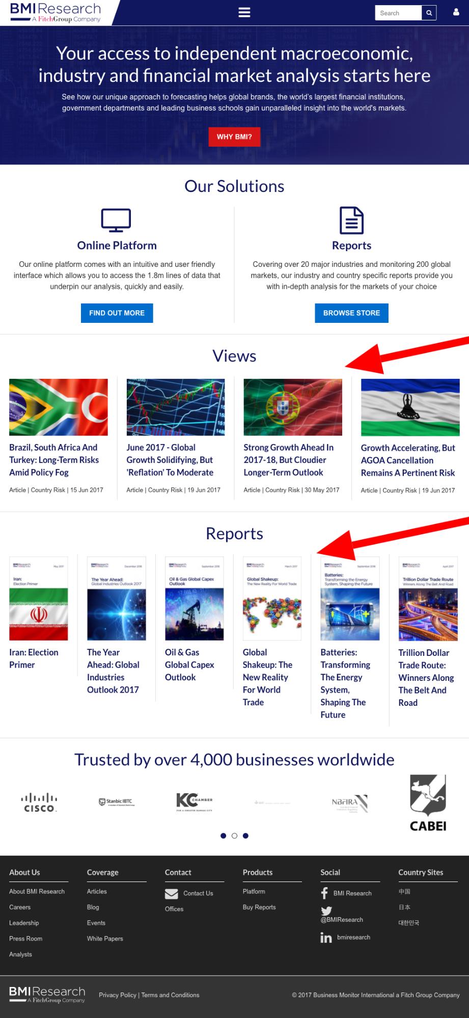 جدیدترین گزارش های تحلیلی صنایع و بازارهای ایران دانلود گزارشهای BMI Research از ایران جدیدترین گزارشهای پیشبینی بیزنس مانیتور از صنایع مختلف ایران