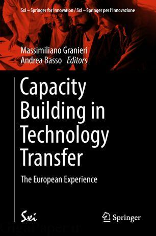 خرید کتاب Capacity Building in Technology Transfer از اشپرینگر