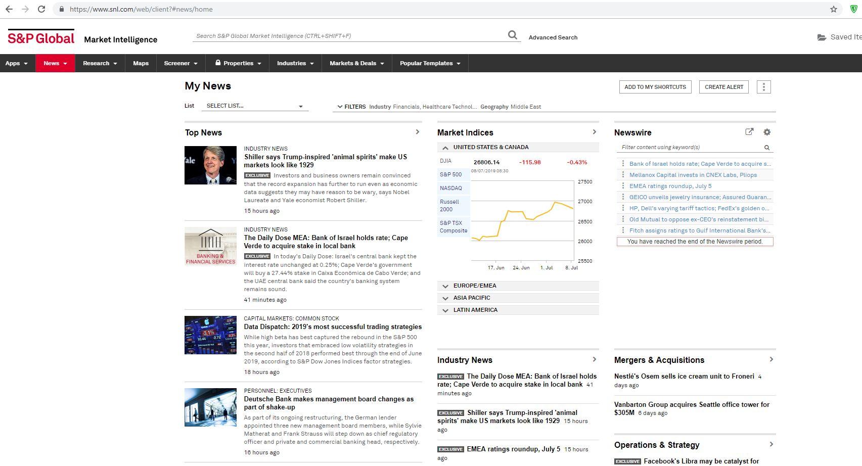 خرید عضویت سایت S&P Global Market Intelligence دسترسی به سایت snl.com دانلود تحلیلهای موسسه S&P گلوبالپلتز user password SNL