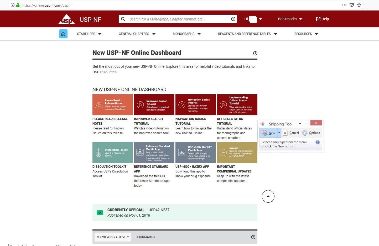 دسترسی به داده های Usp references standards ، اکانت uspnf.com خرید اکانت فارماکوپه یو اس پی ۴۲