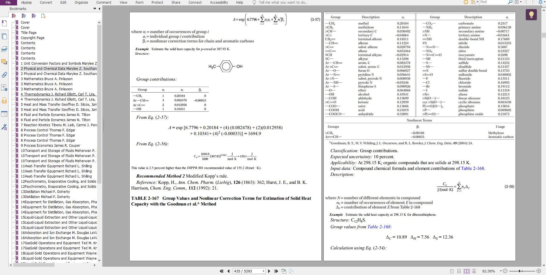 کتاب هندبوک پری Perry's Chemical Engineers' Handbook نسخه 9