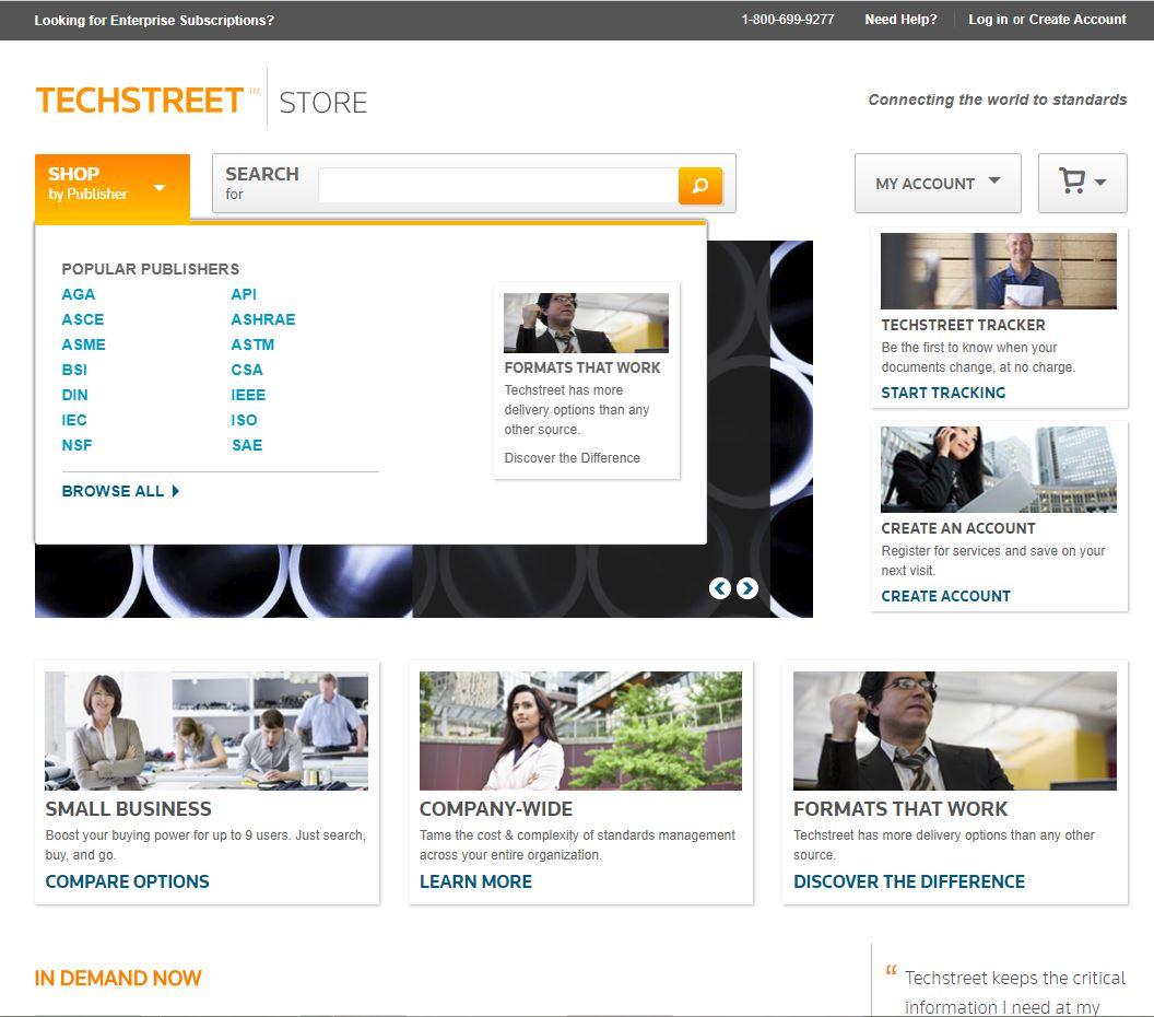 جستجوی استاندارد در TechStreet.com | فروش استاندارد SAE | دانلود استاندارد SAE | مجموعه کامل استاندارد